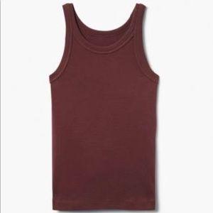 Gymboree Shirts & Tops - Gymboree Girl's Maroon Cotton Tank Top NWT